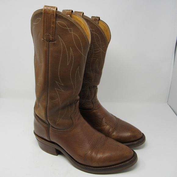 55b9079fb86 🇺🇸 Tony Lama rugged cowboy boots mens size 8D